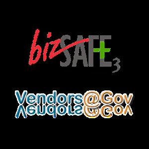 bizsafe3 & Vendors@Gov logo