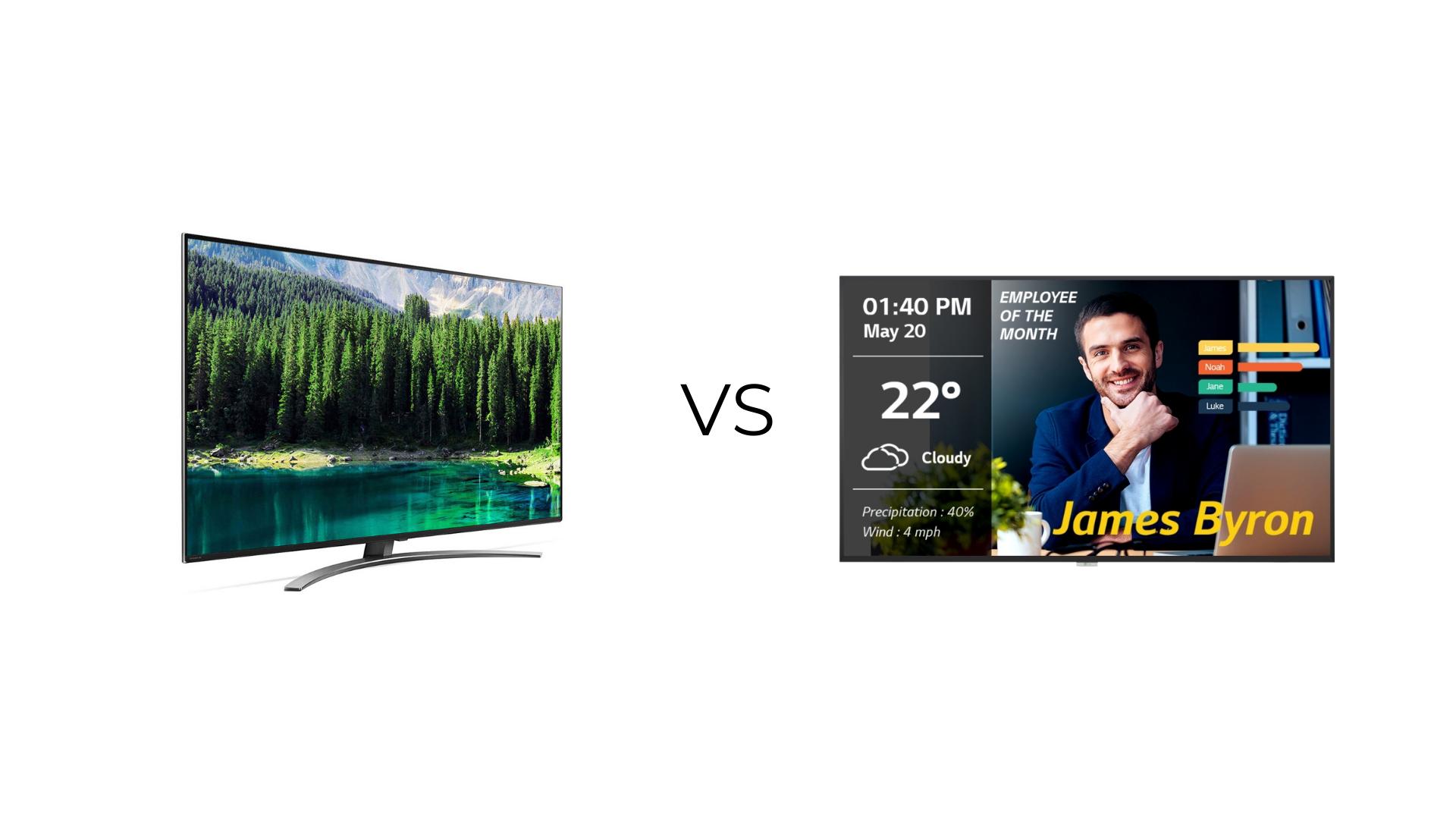 consumer vs commercial display ose8tz8pd7cnvz6p7vw2y9kkdfxu43ve4wtny2hank - Why Choose Commercial TV Display
